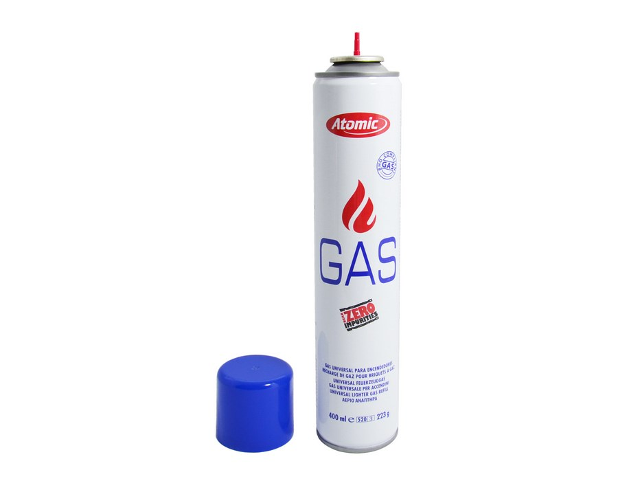 Gaz do zapalniczek 0144001 Atomic 400 ml